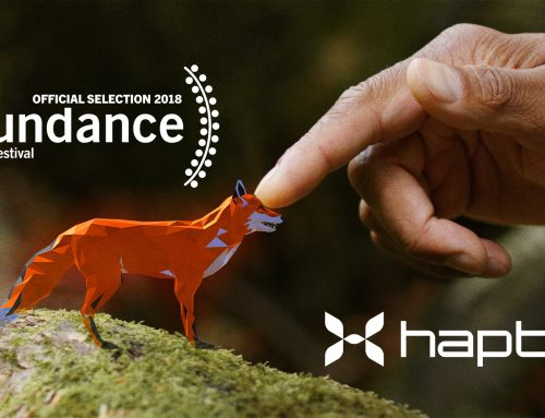 HaptX debuts haptic glove at Sundance, receives Lumiere Award