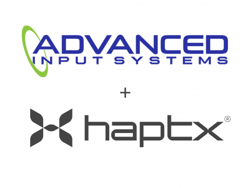 HaptX Announces Partnership with Advanced Input Systems and $12 Million Series A Funding