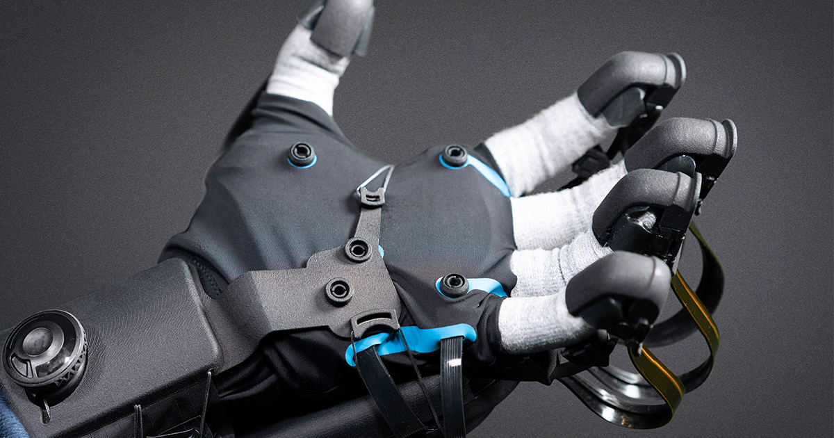 HaptX | Haptic gloves for VR training, simulation, and design