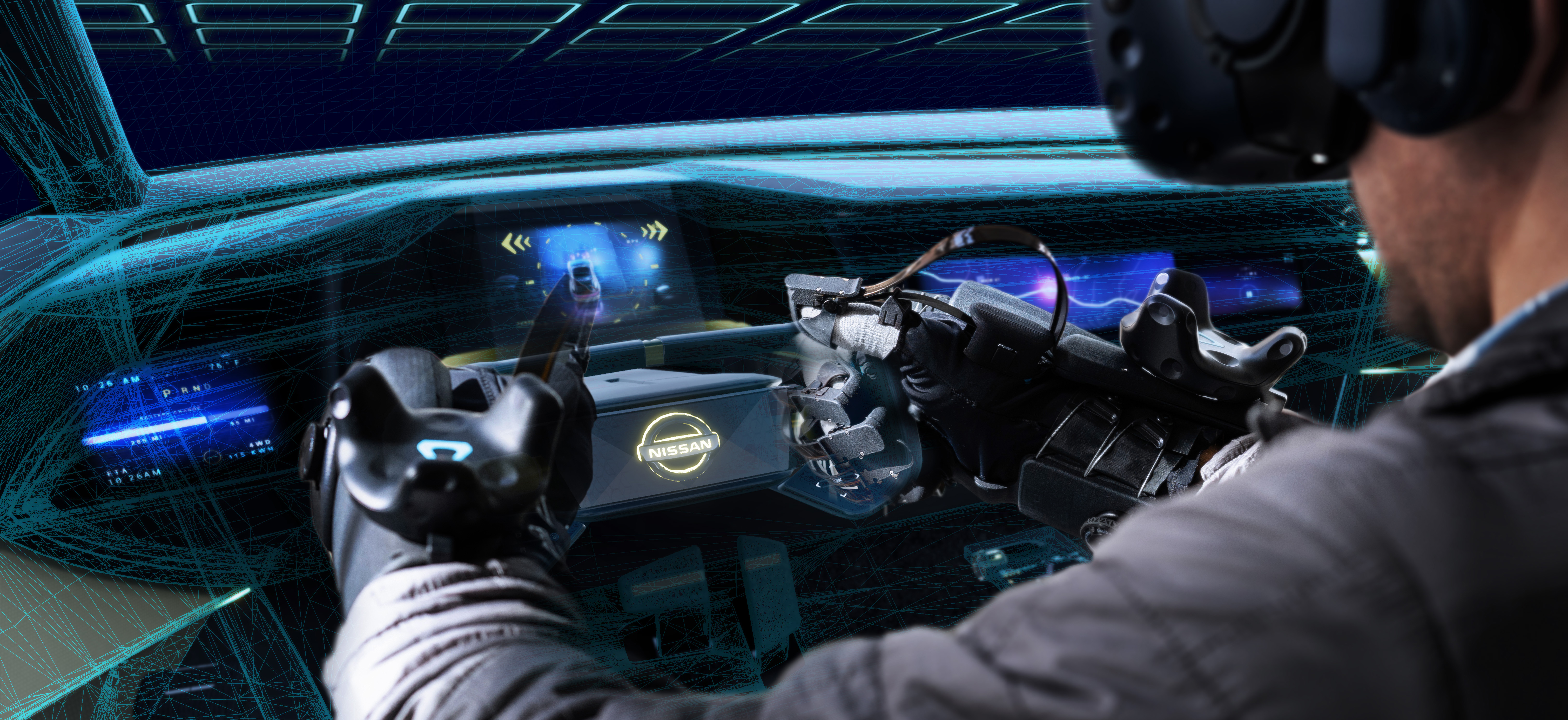 Nissan Design collaborates with HaptX to bring realistic