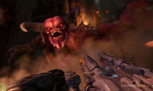 screenshot from bethesda doom