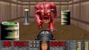 screenshot from classic doom