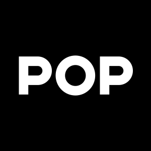 logo for pop agency which works on ux design for vr, ar, mr, and other emerging technologies